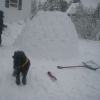 Thumbnail image for Building The Kids An Igloo