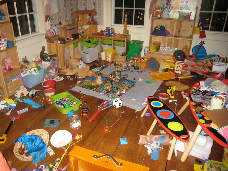 Toy Room Purge Introduction