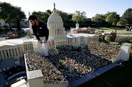 Lego Inauguration Replica