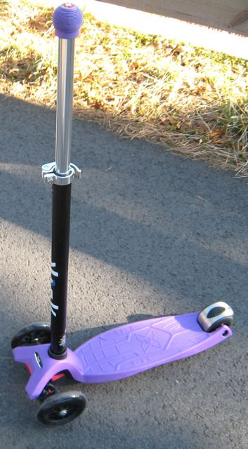 Purple Maxi Kickboard Scooter