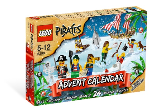 Pirate Lego Advent Calendar 2009