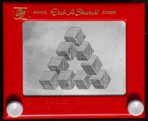 50th anniversary etch a sketch