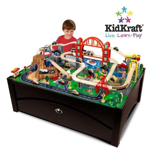 wooden train sets tables 2