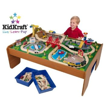 Best Wooden Train Tables