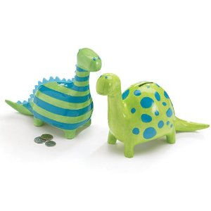 Y These Ceramic Dinosaur Coin Banks Are Perfect For The Dinosaur Lovers In  Your Life And Everyone Has One